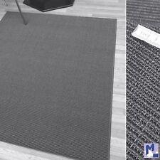 Echt Sisal Teppich - Läufer Bouclé fein Fb. 40 GRAU in verschiedenen Breiten