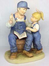 "Debbie Denim Days ""Granpa's Story"" #8894 Pub. 1985 HOMCO Home Interiors & Gifts"