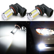 2X 9006 HB4 9005 High Power LED White 6000K 60W Fog Light Driving Lamp Bulb