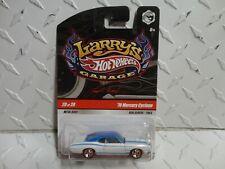 Hot Wheels Larry's Garage #20 White '70 Mercury Cyclone w/Real Riders