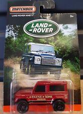 Matchbox 2016 - [Land Rover Series] LandRover Ninety