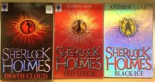 Young Sherlock Holmes, by Andrew Lane: collection of 3 children's books