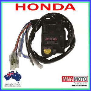 LEFT HAND COMBINATION SWITCH ASSEMBLY  SWITCH BLOCK  XR250 XR400 1996 to 2004