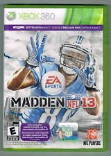 Madden NFL 13 (Microsoft Xbox 360, 2012) ~ Used Complete ~