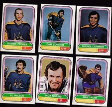 1975 O-PEE-CHEE WHA Team SET Lot of 6 Phoenix ROADRUNNERS NM- FTOREK CONNOR OPC