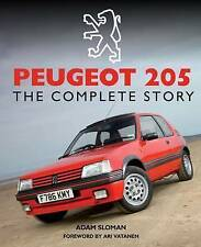 Peugeot 205: The Complete Story by Adam Sloman (Hardback, 2015)
