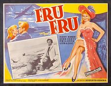 Frou Frou SEXY DANY ROBIN GINO CERVI The Toy Wife Lobby Card N Mint 1955 Italy
