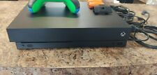 Microsoft Xbox One X 1TB Console - Black with 2 Rechargeable and Custom Cntlr