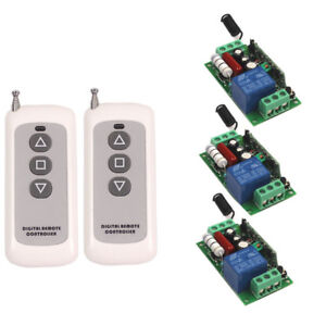 220V 110V 10A Wireless Remote Control Relay On/Off Transceiver+Receiver Switch