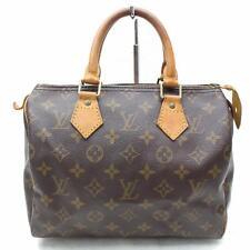 Auténtico Louis Vuitton Bolso de Mano Speedy 25 M41528 Marrón Monograma 113764