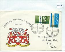 GB - FIRST DAY COVER - 1048 - SPECIALS - 1965 - PO TOWER - LEICESTER PHILATELIC