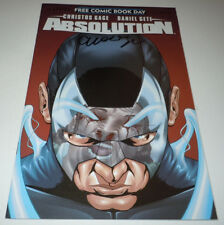 Absolution Beginning FCBD Comic Avatar SIGNED Christos Gage 1st Print First