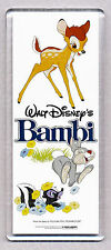 BAMBI movie poster (style B) LARGE 'WIDE' FRIDGE MAGNET - CLASSIC!