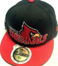 New Era UL CARDINALS baseball hat cap flat bill fitted size 6 3/8 51.1cm kids