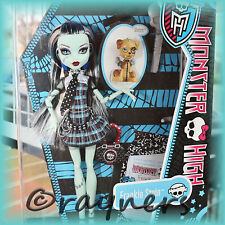 Nouveau | Frankie Stein Monster High poupée | Pet & journal intime classique costume d'origine