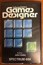 Games Designer Software For Sinclair ZX Spectrum 48k Cassette