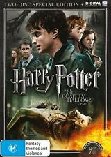 Harry Potter and The DEATHLY HALLOWS Year 7 Part 2 : NEW (2 Disc Set) DVD