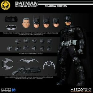 Mezco One:12 Batman Supreme Knight: Shadow Edition IN HAND NEW NISB SOLD OUT