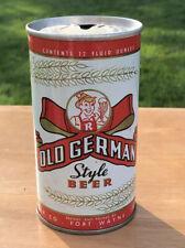 Old German Style Beer, 12 oz Metal Can Renner Brewing, Fort Wayne, Indiana