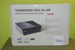 Fujitsu 35 Storagebird Solo 35-UM Digitaler AV-Player 640 GB Multimedia Player