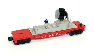 Postwar Lionel 6822 Night Crew Searchlight Car~Mint Unrun!