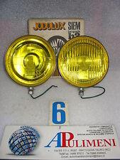 COPPIA FARI FENDINEBBIA (FOG LAMPS) CROMATI SIEM JODOLUX H3 RALLY DIAM.170