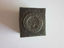 1900 United States Navy Honorable Discharge M.C. Lilley Co. Military Hub Hob Die