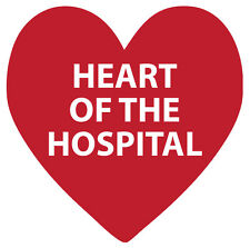 Heart PPE Decal (Roll of 50)