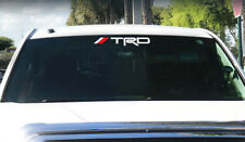 TRD Windshield / Tacoma Tundra off road Racing Toyota 4x4 Decal Sticker Vinyl k
