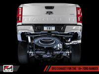 """AWE 2019-2020 FORD RANGER 2.3L ECOBOOST 3"""" 0FG CATBACK EXHAUST SYSTEM"""