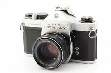 Excellent+++ Pentax Spotmatic 35mm SLR Film Camera w/ 55mm f/1.8 lens Kit #343