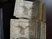 Lot of 17 Vintage 1926 to 1932 Fraternal Order of Eagles Dues Receipts