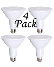 4 Pack Bioluz LED Dimmable PAR38 120W (uses 15 Watts) 1050 Lumen 3000K UL Listed