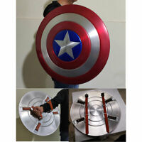 Captain America 1:1 Scale Shield Model Aluminium Alloy Painted Toy For Cosplay