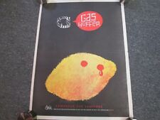 GAS HUFFER PROMO POSTER LEMONADE FOR VAMPIRES ESTRUS RECORDS