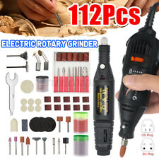 Mini Electric Drill Grinder Rotary Power Tool Grinding Polishing Accessories Set
