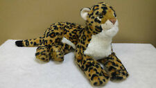 "17"" Leopard, Plush Toy, Beanbag, Stuffed Animal, Wild Republic"