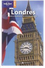 Guía de viajes de Londres y plano. London travel guide and plan.