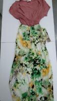 Eloges Women's Floral Dress (Multi, M)