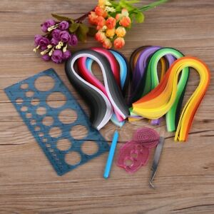 Starter Quilling Paper Quilling Kits Cork DIY Tool Workboard Slotted Tool Craft