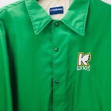 K Wings Korner Klub Jacket Kalamazoo Wings IHL XL Green