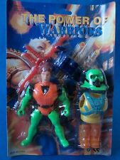 Vintage figure-the power of warriors-bootleg earth force jouet