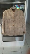 Ellen Tracy Size 14 Brown Jacket