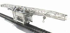 """Z-scale 1:220 Nickel Silver etched Rr Track Construction Crane Kit """"Niemag"""""""