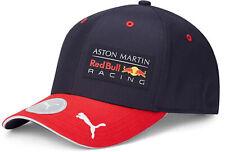 PUMA Red Bull Racing F1 2020 Baseball Cap Hat Adjustable Cotton Navy Blue