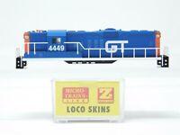 Z Micro-Trains MTL 98225140 GTW Grand Trunk Western EMD GP9 Body Shell #4449