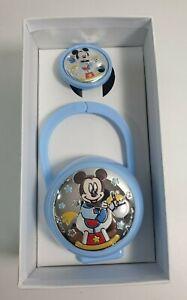 Disney Set Box e Porta Ciuccio Topolino Bimbo Bambino Neonato D 1226