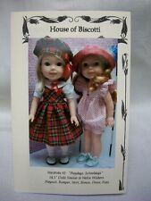 """14.5"""" Doll Wardrobe Pattern #2 School Outfit, Romper, Dress Wellie Wishers,"""