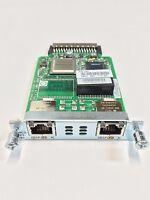 VWIC3-2MFT-T1/E1 - Cisco 2-Port T1/E1 Multiflex Trunk Voice/WAN Interface Card