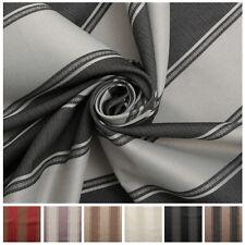 Designer Jacquard Stripe Fire Retardant Designer Soft Furnishing Curtain Fabric